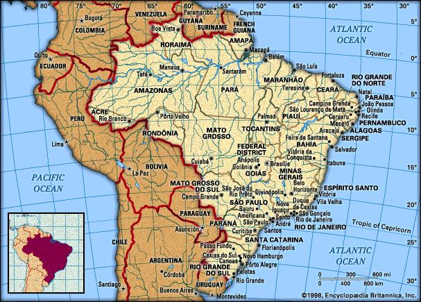 want to reach every area of Brazil with the gospel,