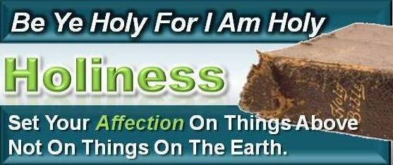 Articles On Holiness