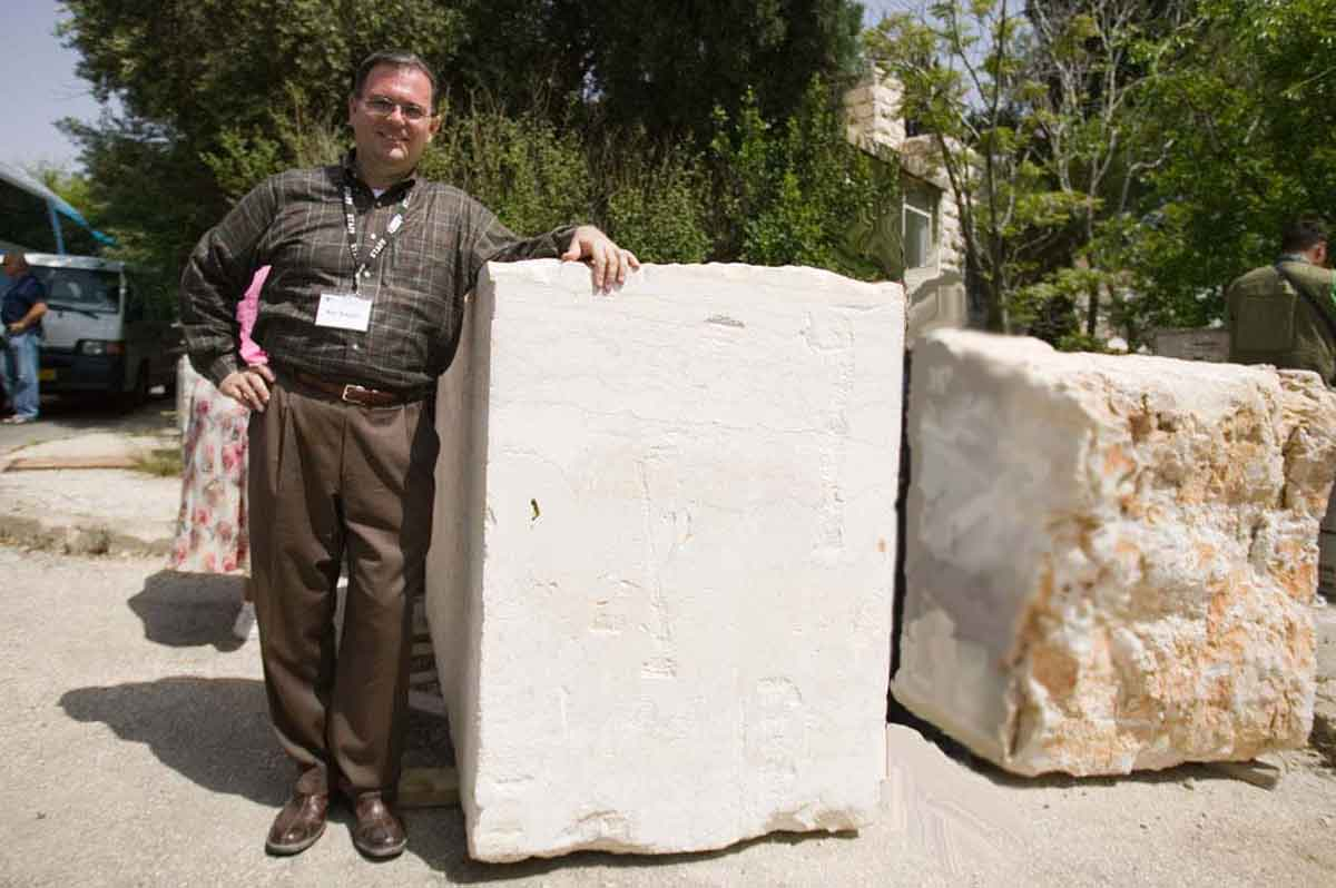 Ken with 3rd Temple   Cornerstone