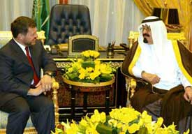 Abdullahs of Jordan and Saudi Arabia