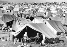 Palestinian Refuges to Jordan 1967