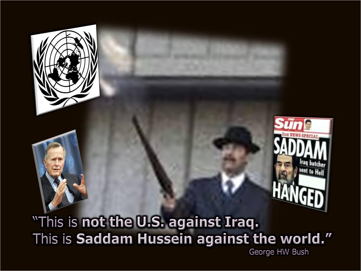 sadam atrocities